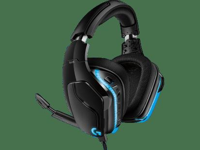 G635 | Auriculares con micrófono con LIGHTSYNC y sonido envolvente 7.1 para gaming