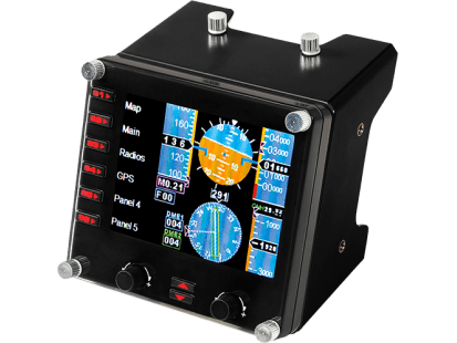 Flight Instrument Panel | PROFESSIONAL SIMULATION LCD MULTI-INSTRUMENT CONTROLLER