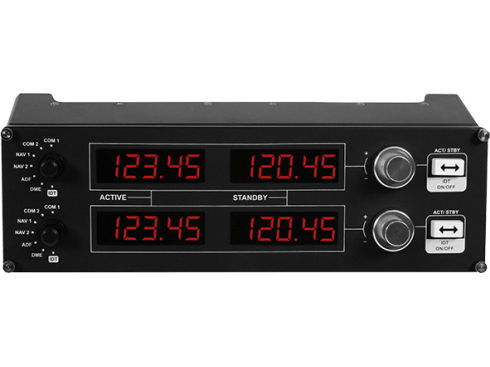 Flight Radio Panel | Professionele simulatieradiocontroller