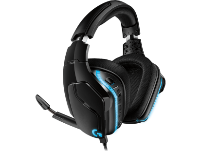 G635 | Headset para jogo com som surround 7.1 e LIGHTSYNC