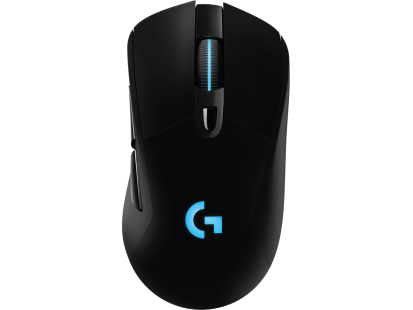 G703 | LIGHTSPEED Wireless Gaming Mouse Dengan Sensor HERO