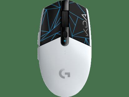 G304 | 新一代 LIGHTSPEED 无线科技问世,为玩家提供出色的无线游戏体验。