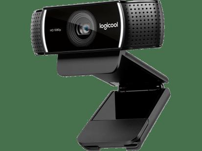 C922 Pro Stream Webcam | 背景交換+三脚