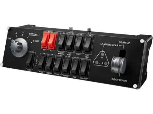 Flight Switch Panel | Professionele simulatieschakelcontroller