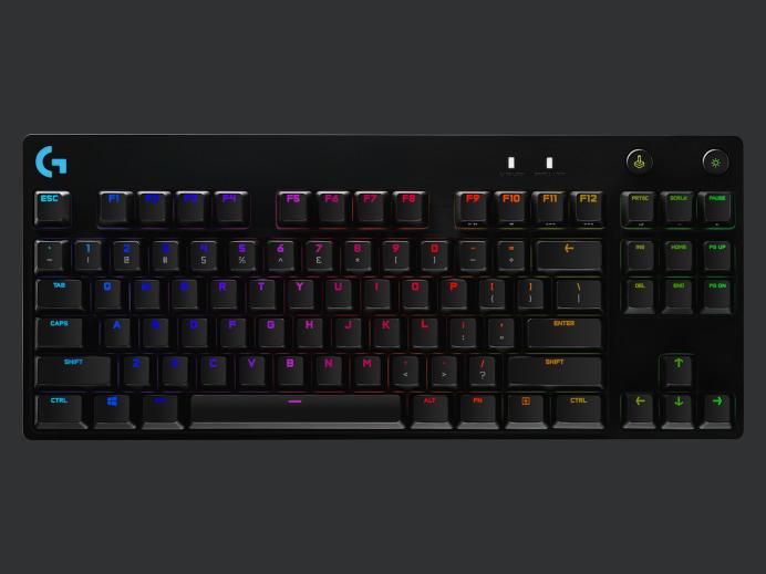 Logitech G Pro X Mechanical Gaming Keyboard - Black pros