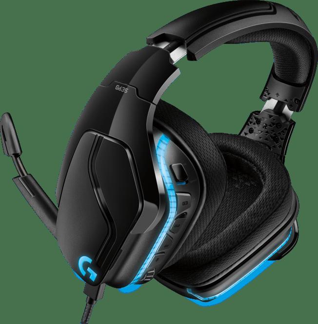 Logitech G635 7 1 Lightsync Gaming Headset