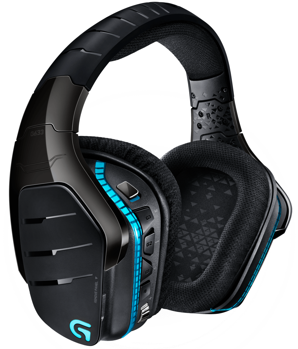 G633 7.1 Surround Sound RGB-Gaming-Headset