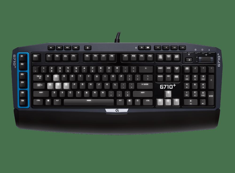 G710+ Blue Mechanical Gaming Keyboard