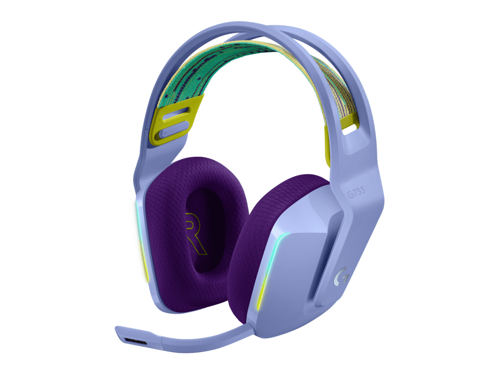 G733 Casque gaming sans fil LIGHTSPEED RVB G733