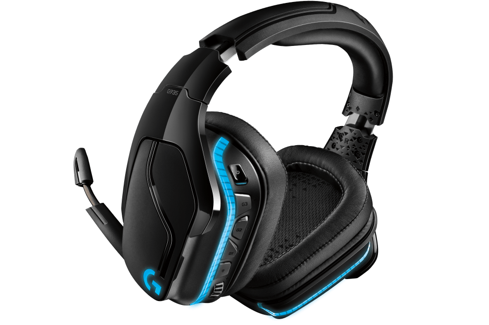 G935 Wireless 7.1 Surround LIGHTSYNC Gaming Headset