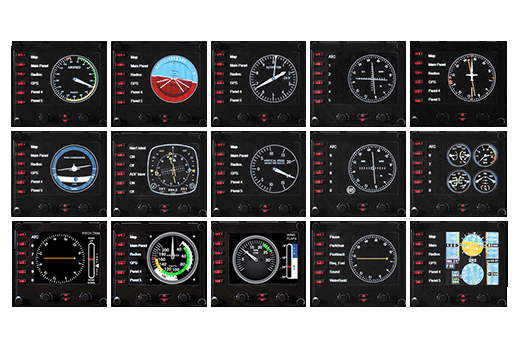 Flight Instrument Panel 飛行遊戲