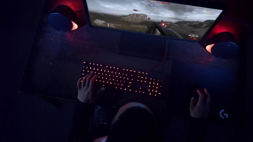 Példa LIGHTSYNC-megvilágítású környezet
