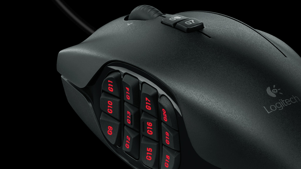 Mouse G600 para juegos MMO