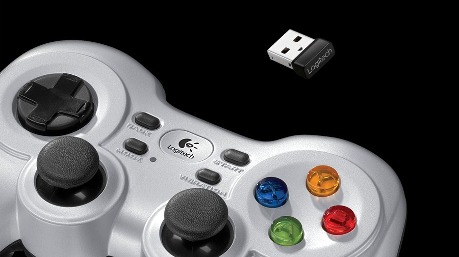 Gamepad inalámbrico F710