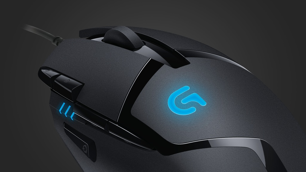 Logitech G402 Hyperion Fury mouse Optical 4000DPI High Speed gaming mouse