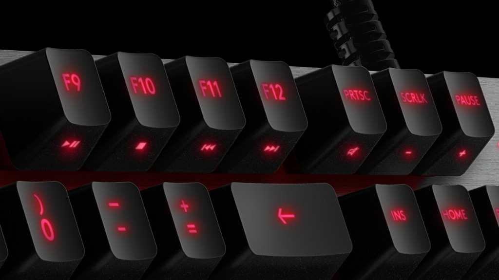 G413 BACKLIT MECHANICAL GAMING KEYBOARD