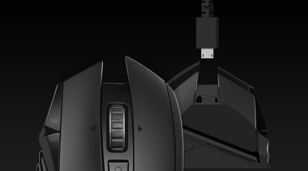 G502 LIGHTSPEED | Mouse con batería LiPo de 60 horas
