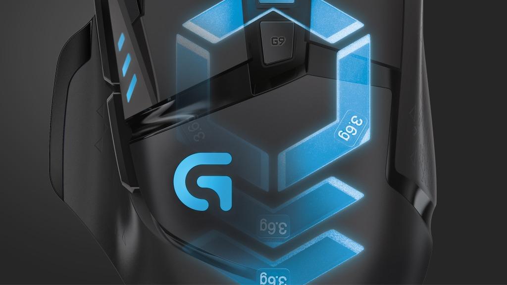 G502 Proteus Spectrum RGB 自适应游戏鼠标