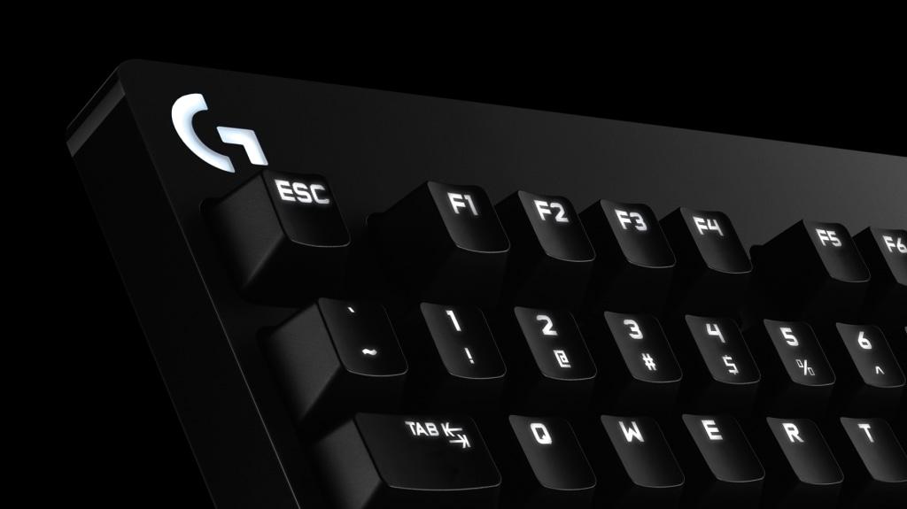 Teclado mecánico con retroiluminación G610 para juegos