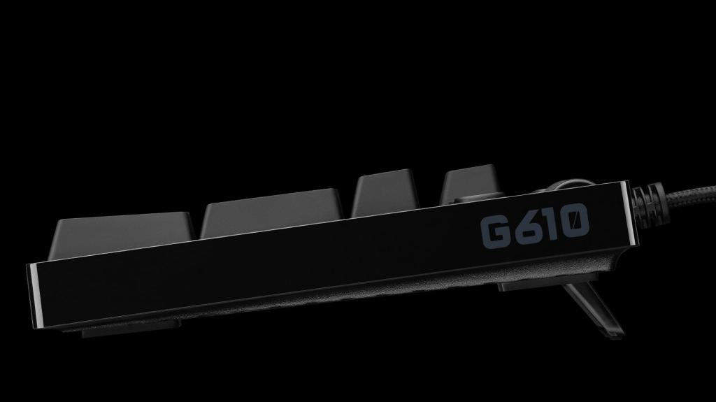 Teclado mecánico con retroiluminación G610 para juegos - Rojo