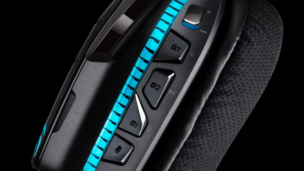 Auriculares con micrófono 7.1 RGB G633 para gaming
