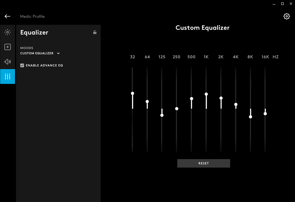 G635 | Personalize Sound Profiles