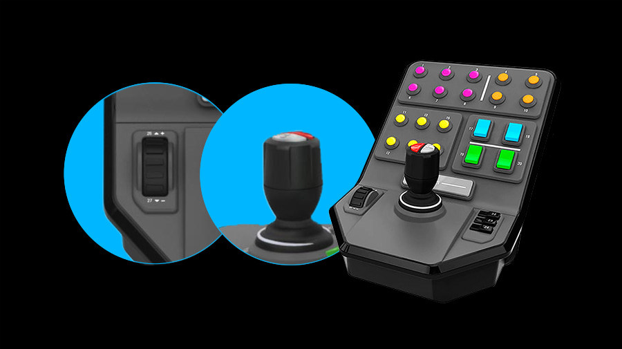 Heavy Equipment Side Panel Simulation Heavy Equipment Control Deck