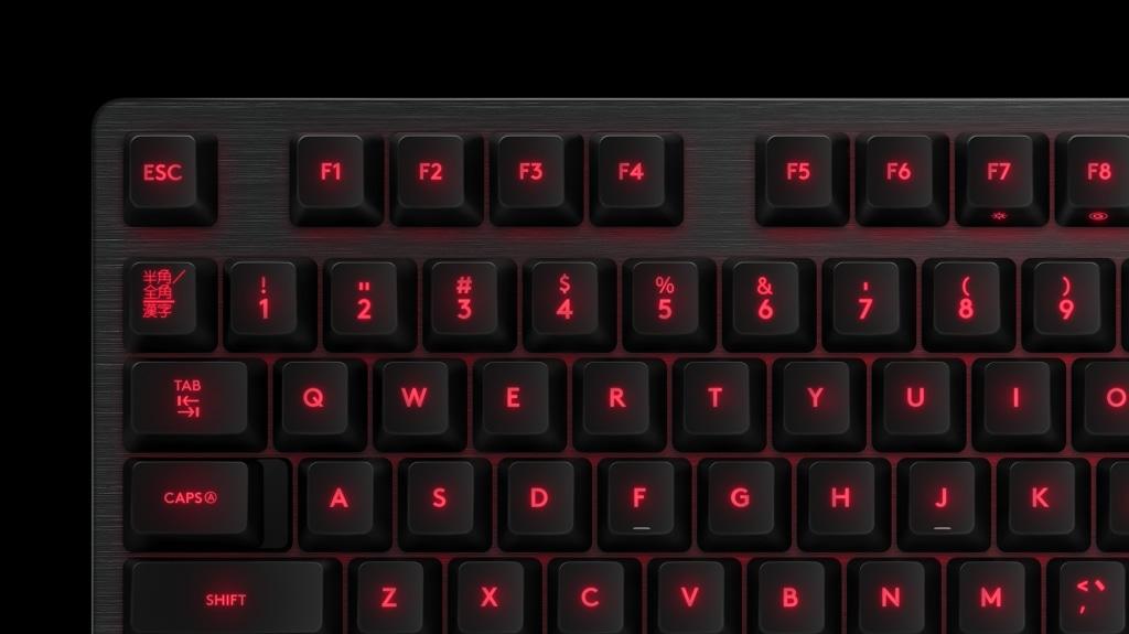 G413バックライト搭載メカニカル ゲーミング キーボード