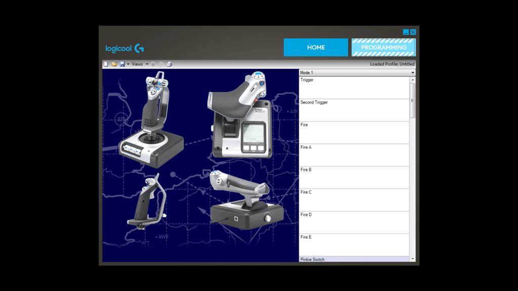 X52 HOTAS - スロットル&スティック シミュレーション コントローラ