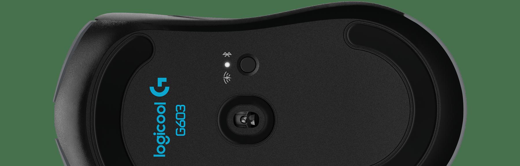 G603 Lightspeedワイヤレス ゲーミング マウスの電池駆動時間