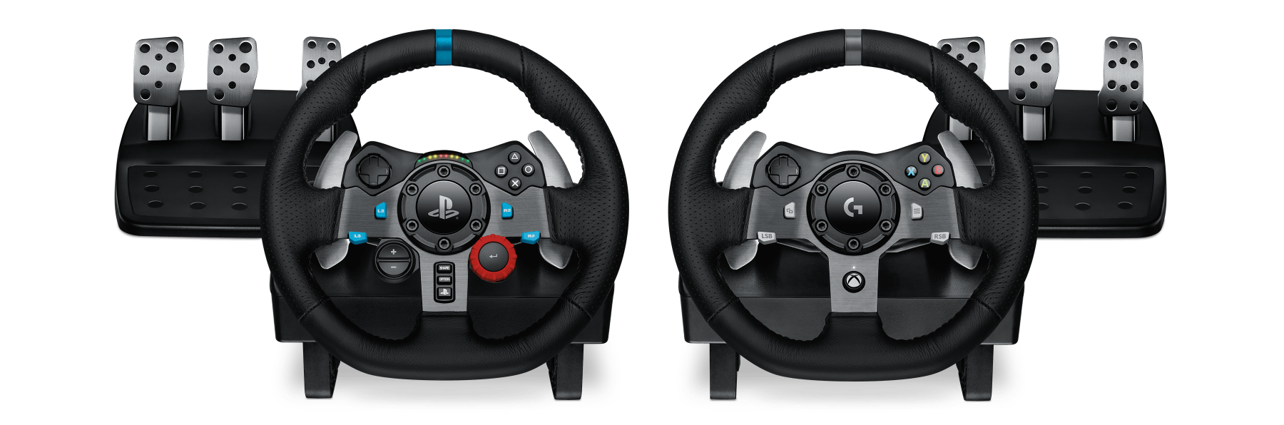 Logitech G920 G29 Driving Force Steering Wheels Pedals