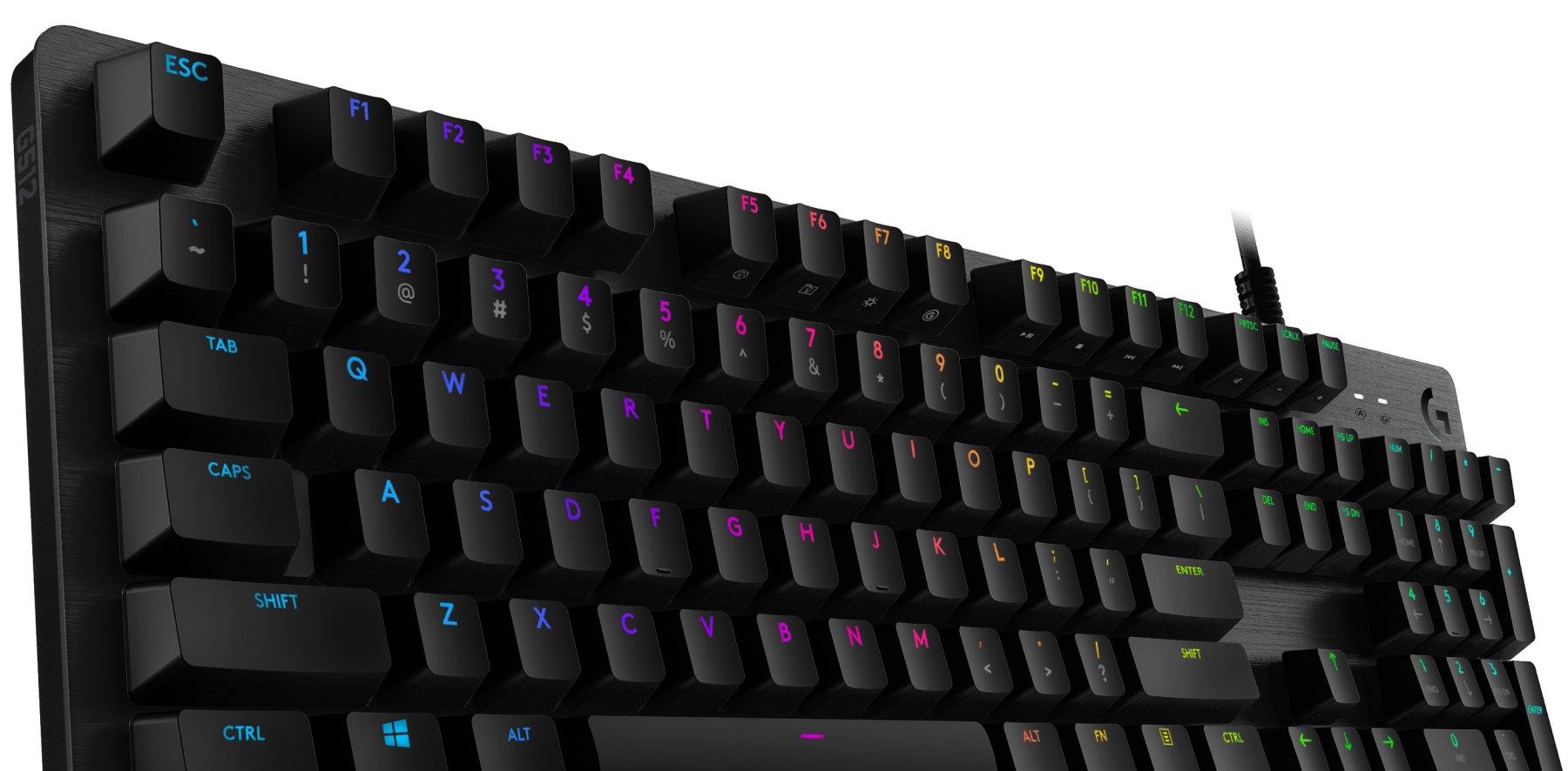 Mechanische G512 LIGHTSYNC RGB-Gaming-Tastatur