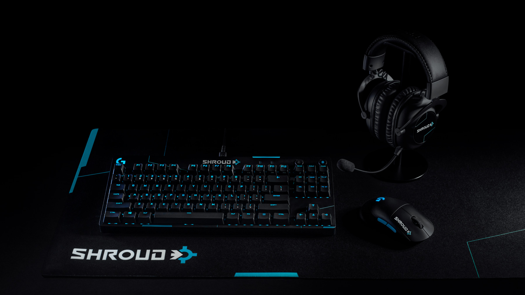 THE OFFICIAL GAMING GEAR OF SHROUD