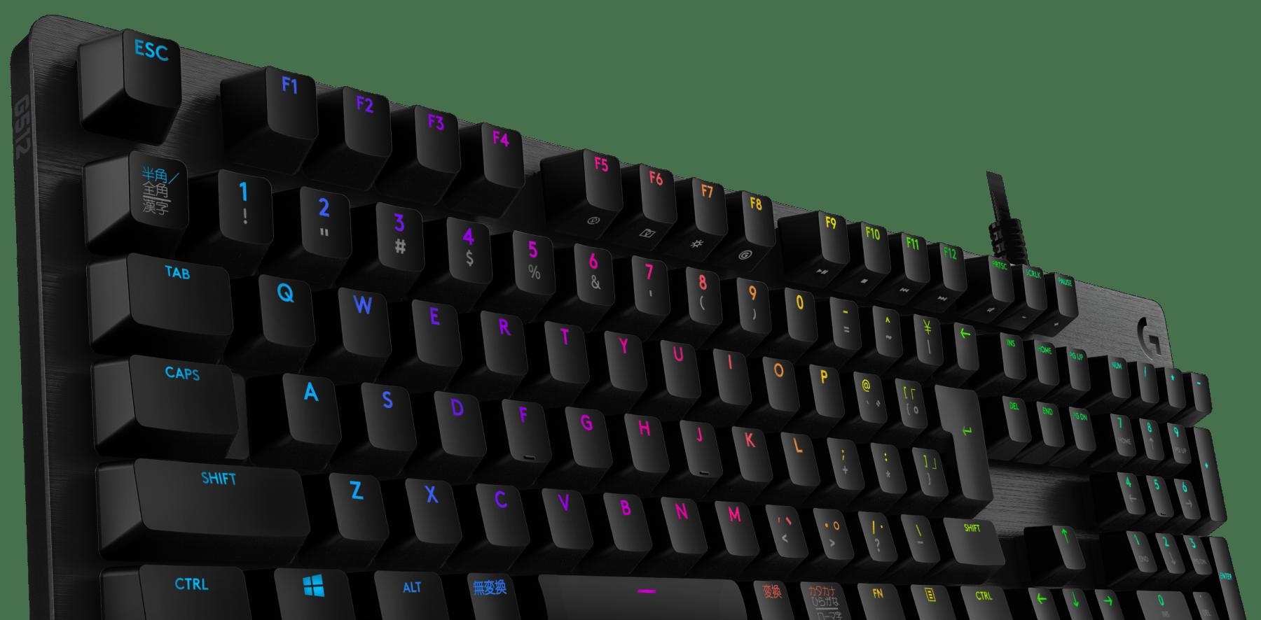 G512 LIGHTSYNC RGBメカニカル ゲーミング キーボード