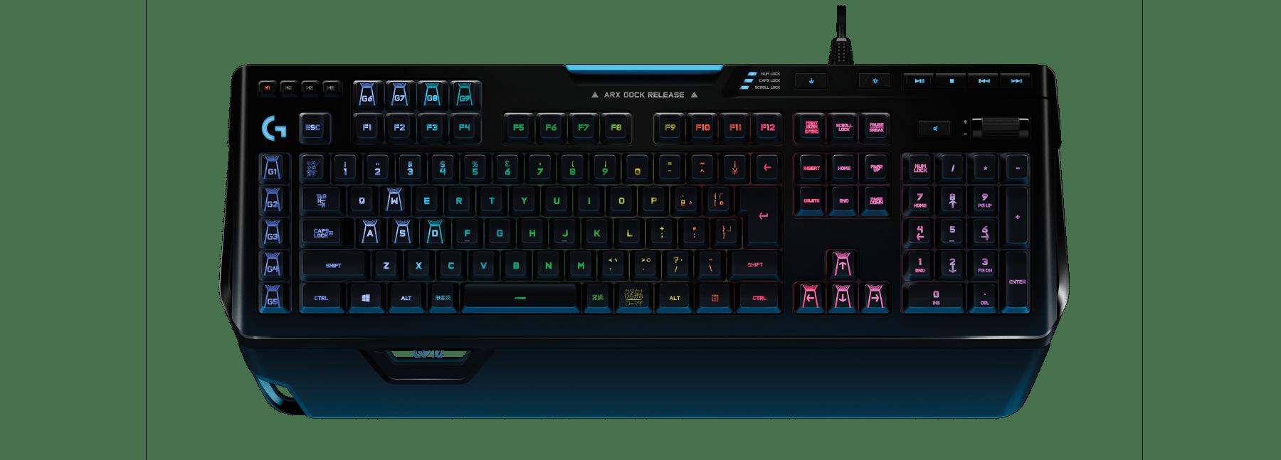 G910 RGBメカニカル ゲーミング キーボード