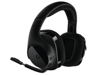 G533 Wireless | CUFFIA GAMING CON MICROFONO E AUDIO SURROUND DTS 7.2
