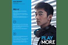 G233 Prodigy   Totale onderdompeling in de game. Totaal comfort in het leven.