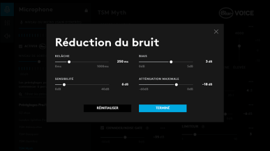 RÉDUCTION DES BRUITS