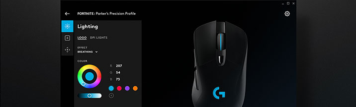 Logitech G Hub Advanced Gaming Software Rgb Game Profiles