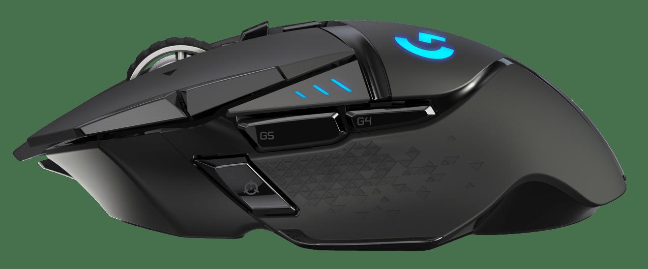 Mouse inalámbrico Logitech G502 LIGHTSPEED para juegos