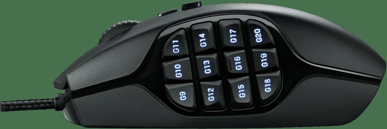 Black 910-002864 Logitech G600 MMO Gaming Mouse