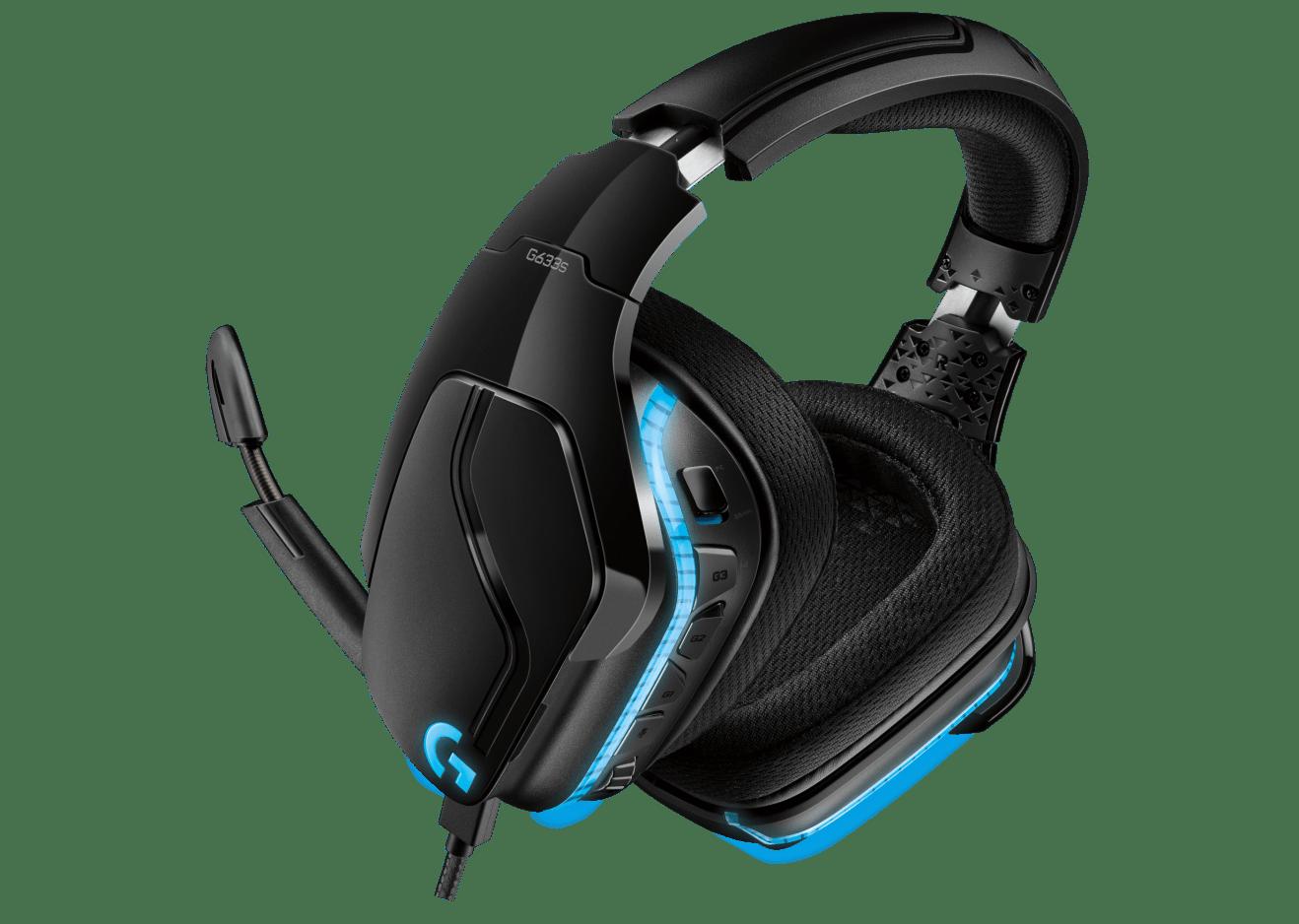 ชุดหูฟังเกมมิ่ง Logitech G633s 7.1 LIGHTSYNC